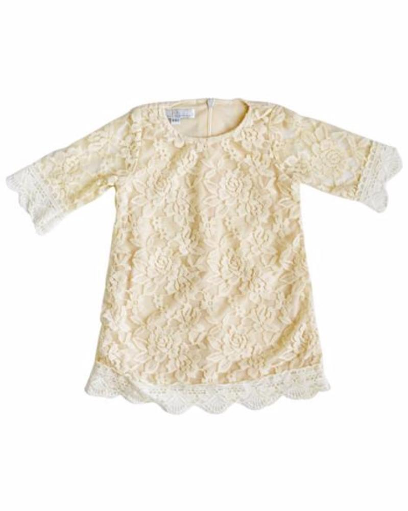Vintage Lace Baby Dress