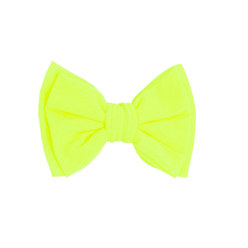 Baby Bling Classic Clip - Neon Safety Yellow