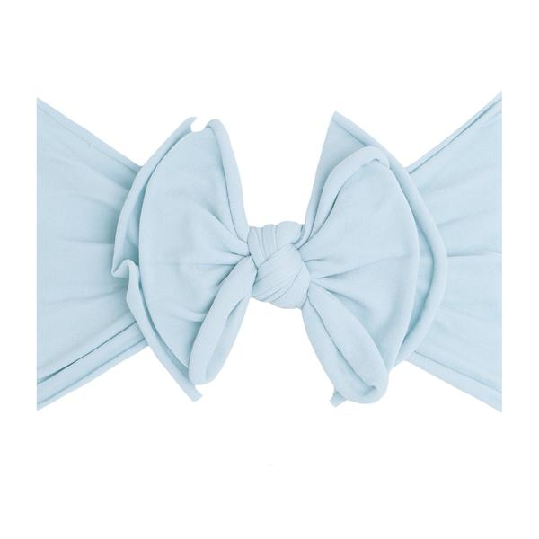 Baby Bling Fab-Bow-Lous Headband Bow - Chambray