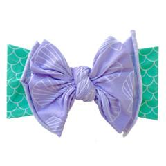Baby Bling Fab-Bow-Lous Headband Bow - Mermaid