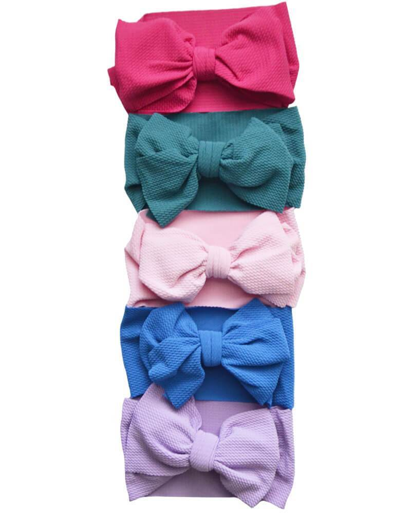 Messy Bow Headwrap - Spring Colors