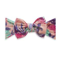 Baby Bling Printed Bow Knot - Miami Baby