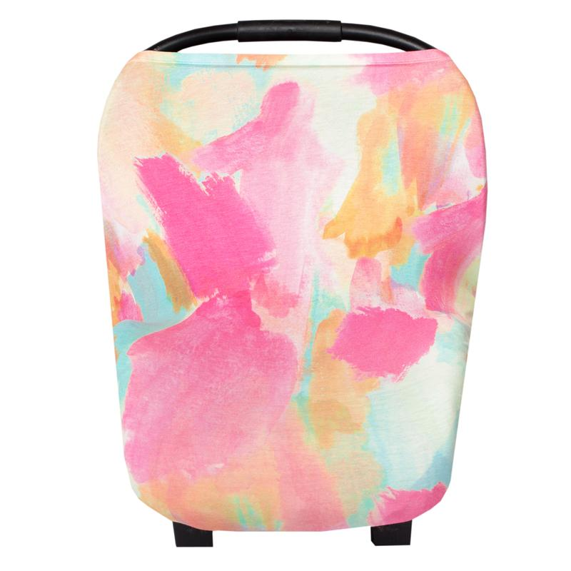 Car Seat Multi-Use Cover - Monet
