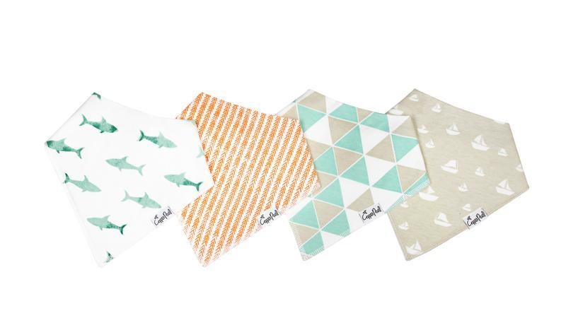 Bandana Bib Set - Pacific