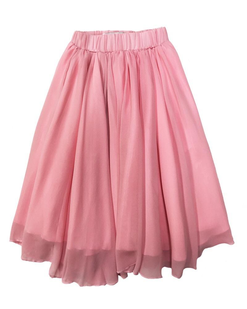 Maxi Skirt for Babies and Toddlers - Pink
