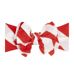 Baby Bling Fab-Bow-Lous Headband Bow - Red/White