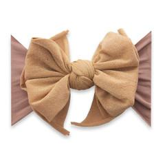 Baby Bling Fab-Bow-Lous Shimmer Headband Bow - Rose Gold