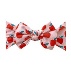 Baby Bling Printed Bow Knot - Teacher's Pet
