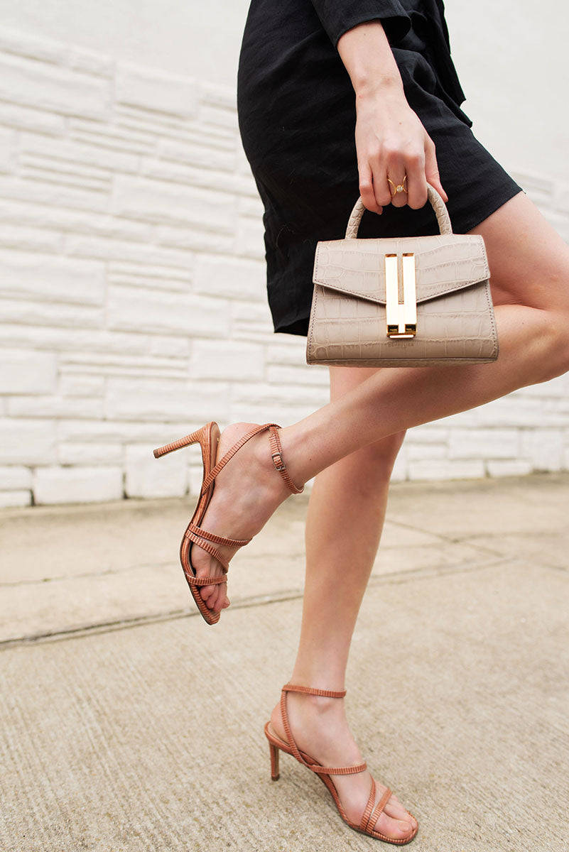 With a modest 2.8-inch heel, the Sophia sandals might be the most comfortable heels I've ever worn. The asymmetric straps wrap snugly across my instep in a way where I forget I'm even wearing them.