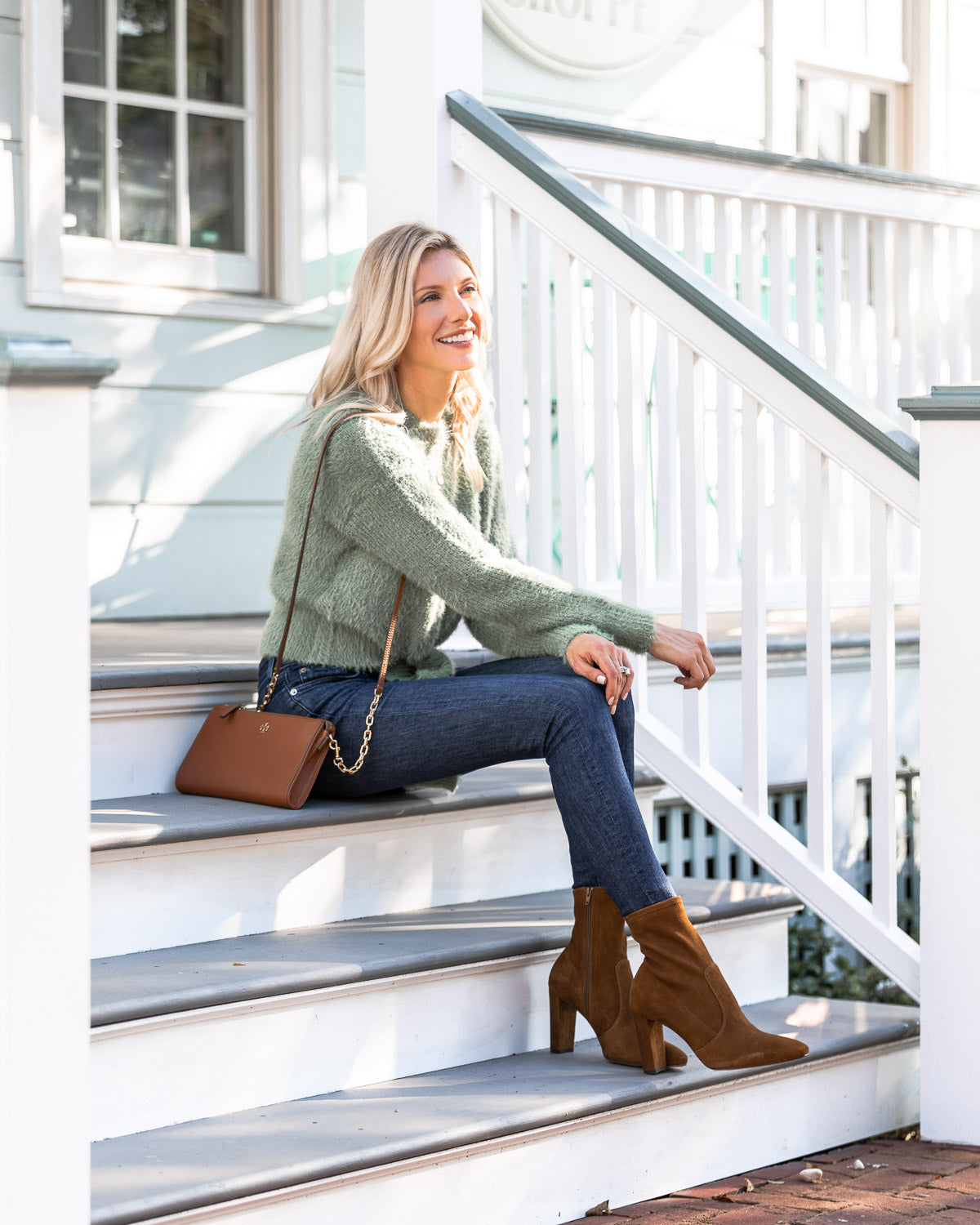 Falling for these block heel booties! I love that these booties are designed in NYC and are super comfy!