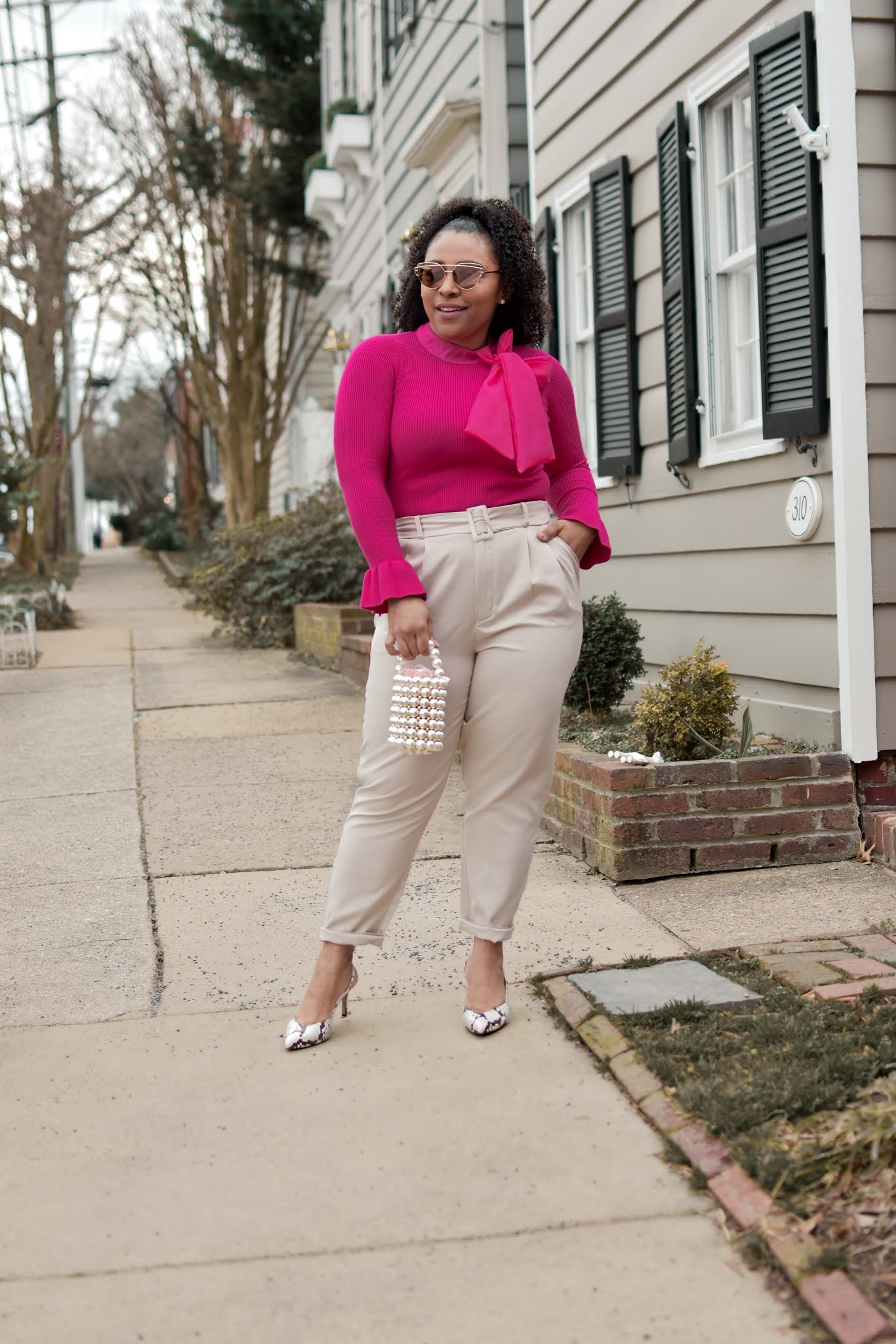 I seriously want the whole site. These slingback babies are so comfortable and I love how chic they look.