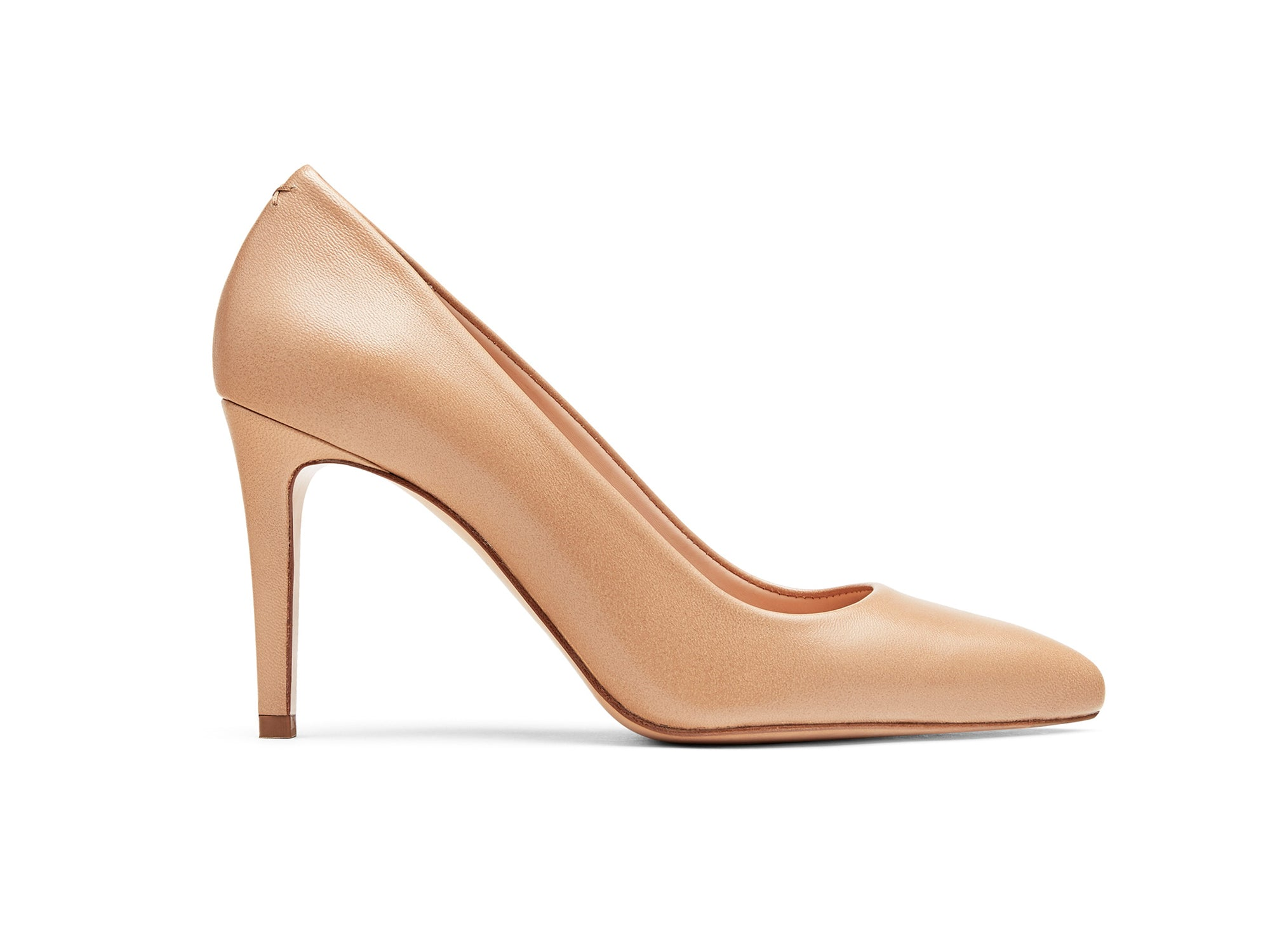 Alta Pumps in Almond Nappa