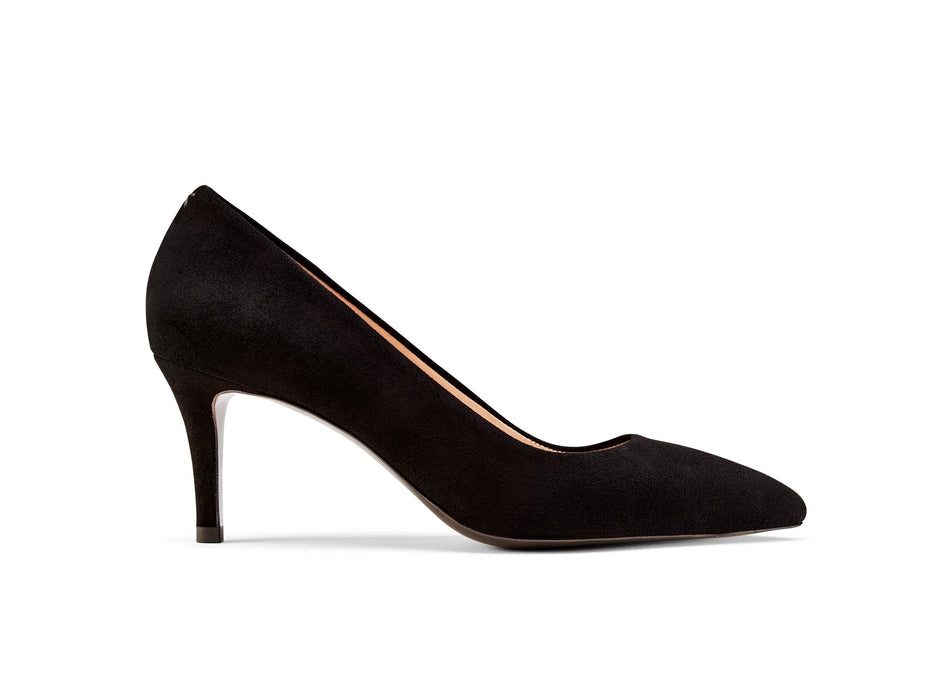 The Lola: Black Suede