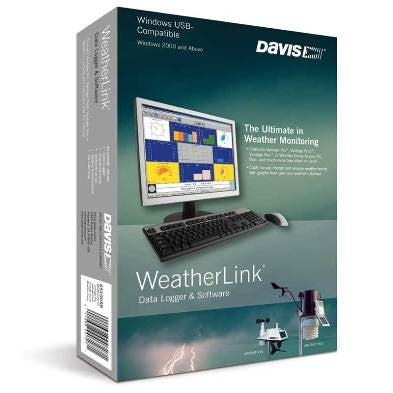 ПО WeatherLink USB Davis +  Аккаунт на сайте WeatherLink на 1 год