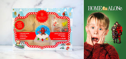Home Alone with Snowglobe Designer Cookie Kit