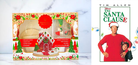 The Santa Clause with Red House Designer Cookie Kit