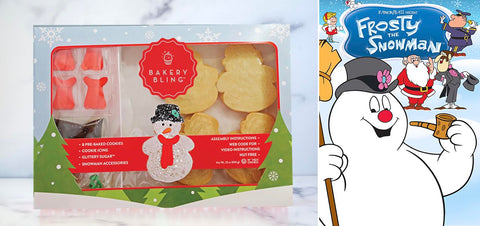 Frosty the Snowman with Snowman Designer Cookie Kit