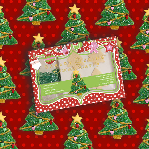 Christmas Tree Designer Cookie Kit by Bakery Bling