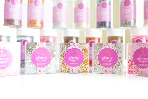 Safe Edible Glitter That Is Actually Edible Bakery Bling Glittery Sugar Sprinkles for Cakes Cookies Cupcakes Cake Pops Cake Balls Macarons Weddings Birthday Baby Showers Parties Unicorn Mermaid Trendy Desserts