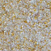 Bakery Bling So Hollywood Edible Glitter Stars Glittery Sugar Sprinkles White and Gold