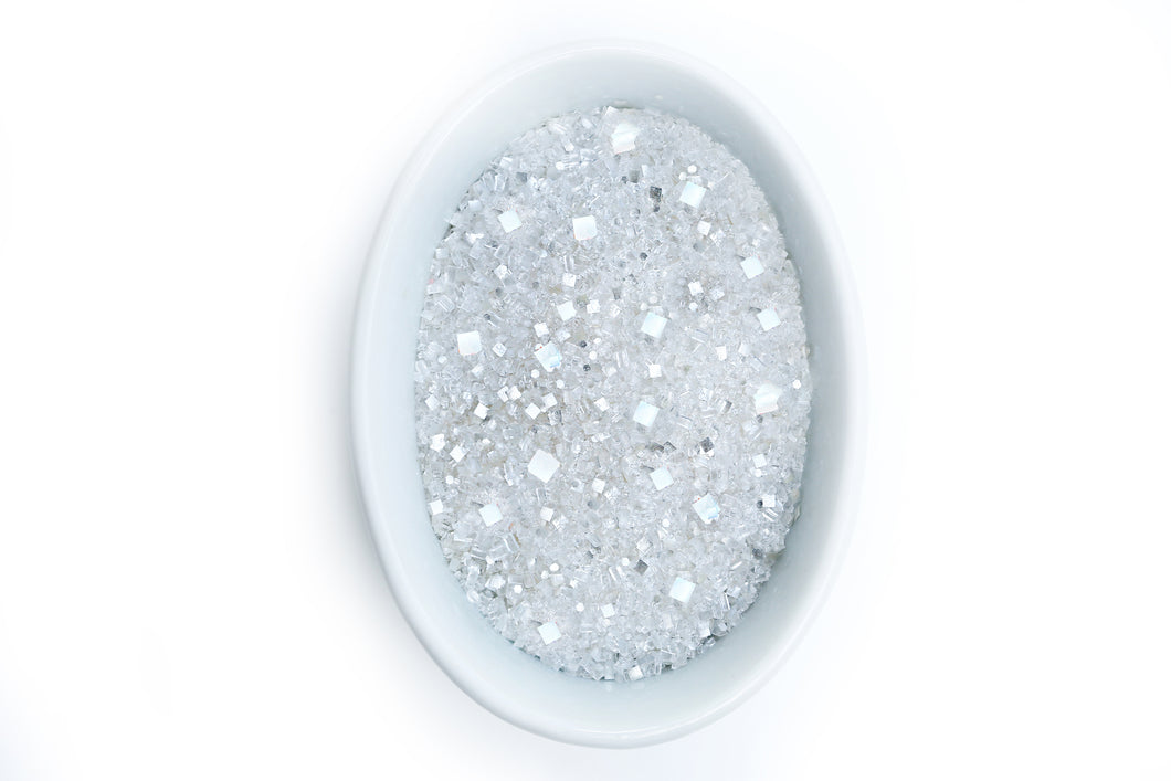 Edible Glitter Sugar Bakery Bling Diamond Glittery Sugar Sprinkles with Edible Glitters