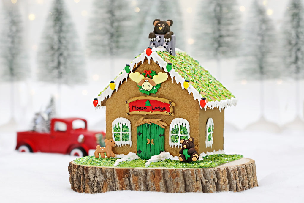 Moose Lodge Designer Gingerbread Kit
