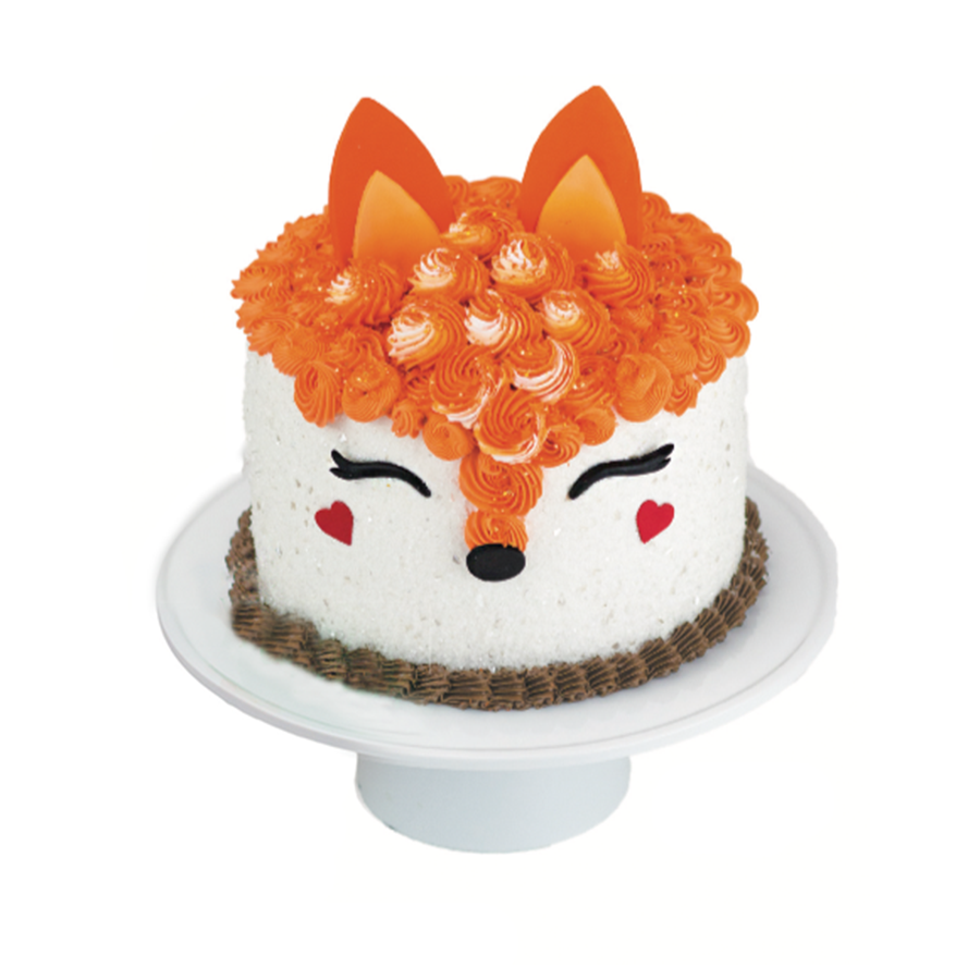 Fox Designer Cake Décor