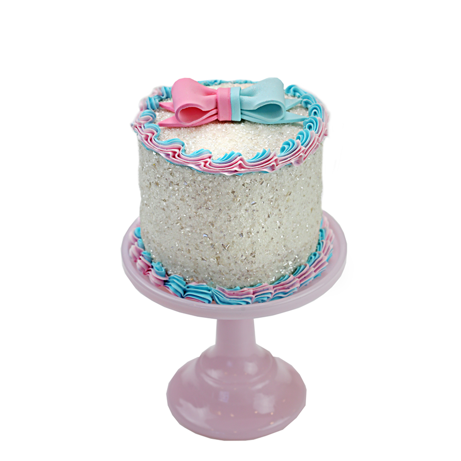 Gender Reveal Designer Cake Décor