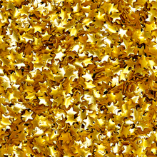 Metallic Gold Stars Edible Bling