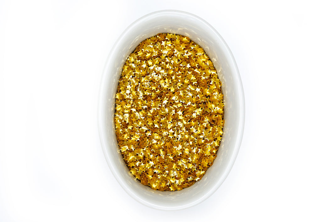 Edible Stars Gold Glitter Edible Bling Bakery Bling