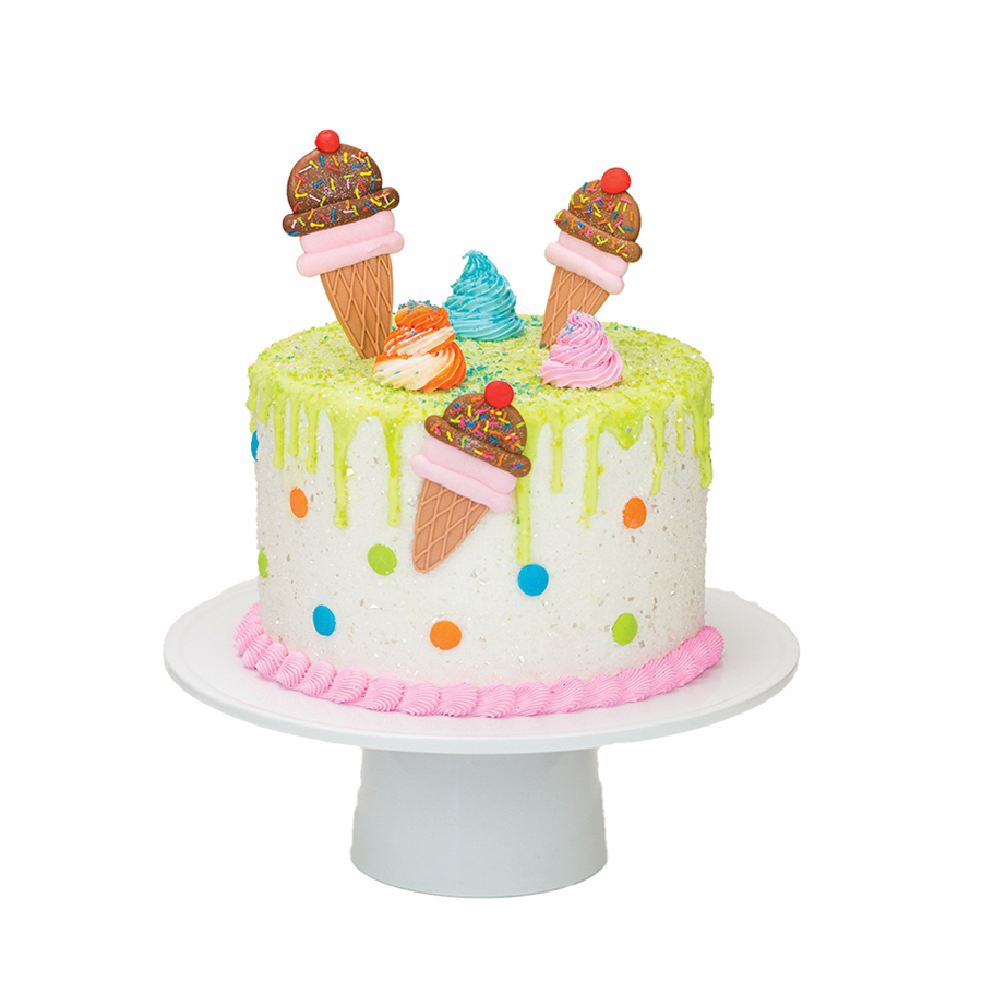 Ice Cream Designer Cake Décor