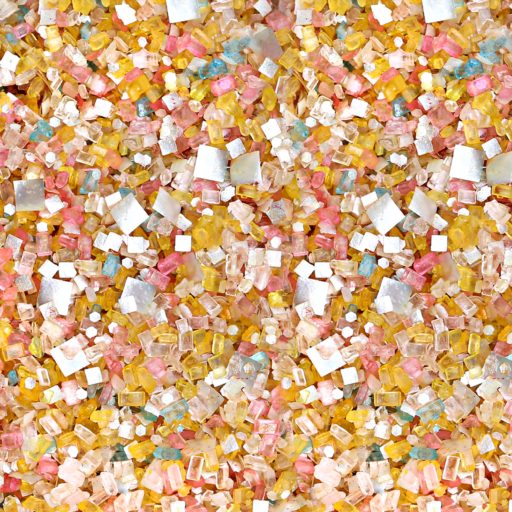 It's a Party Bakery Bling Edible Glitter Multicolored Blinged-Out Glittery Sugar Sprinkles - Edible Glitter Sprinkles for Cake Decorating and Baking Supplies