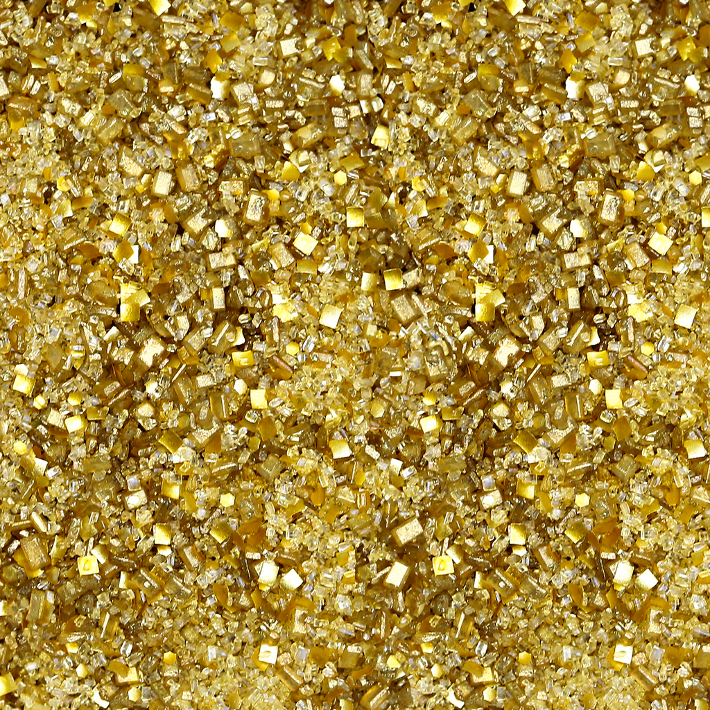 Bakery Bling Metallic Gold Edible Glitter Glittery Sugar Sprinkles for Baking and Cake Decorating