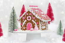Pink Designer Gingerbread House