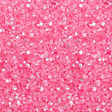 Bakery Bling Pink Glittery Sugar Sprinkles with Edible Glitter