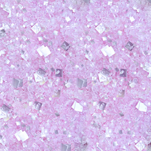 Bakery Bling Glittery Sugar Princess Cut Blinged-Out Sprinkles Light Pink Sugar with Silver Edible Glitter | Baking Supplies & Cake Decorating Supplies