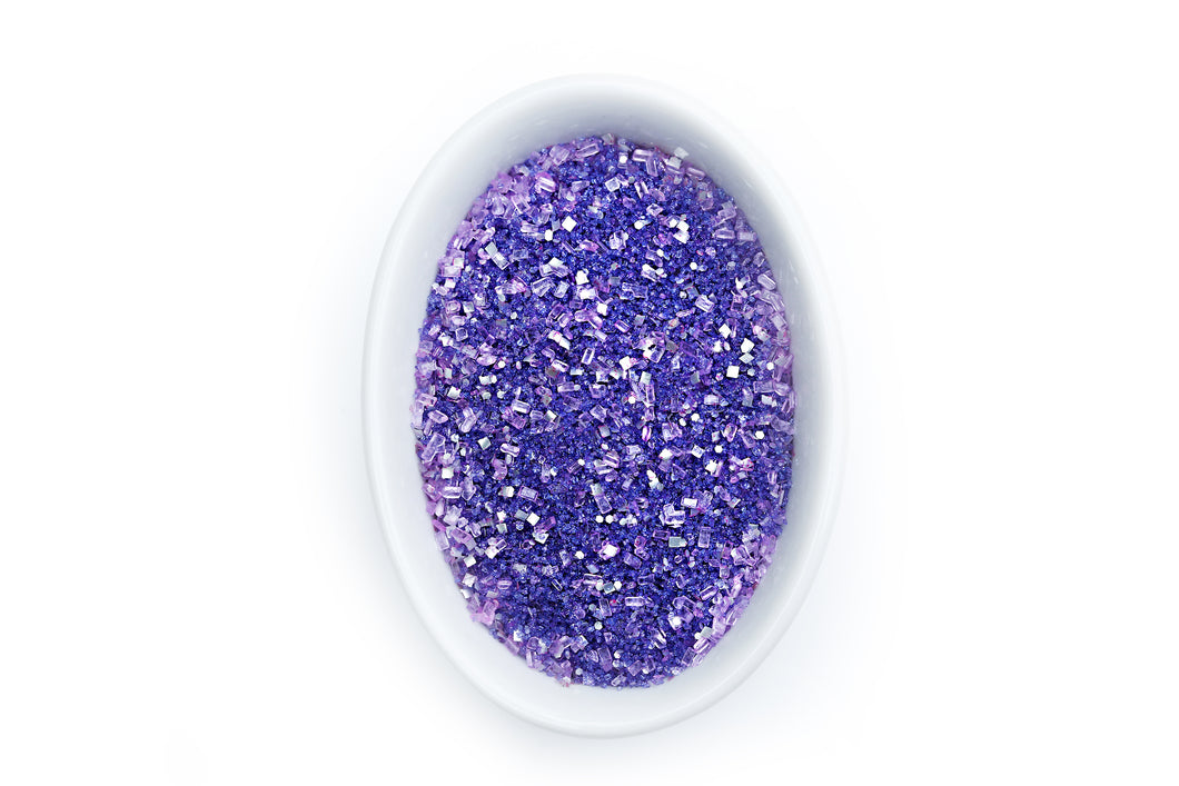 Bakery Bling Purple Glittery Sugar