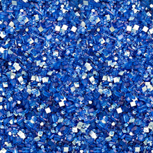 Royal Blue Bakery Bling Glittery Sugar - Edible Glitter Sprinkles used for baking and decorating