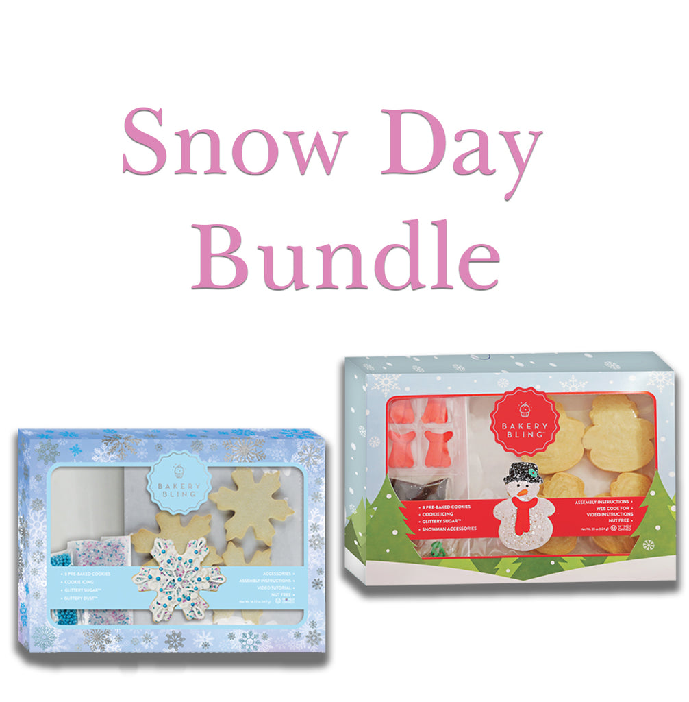 Bakery Bling Snow Day Cookie Kit Bundle
