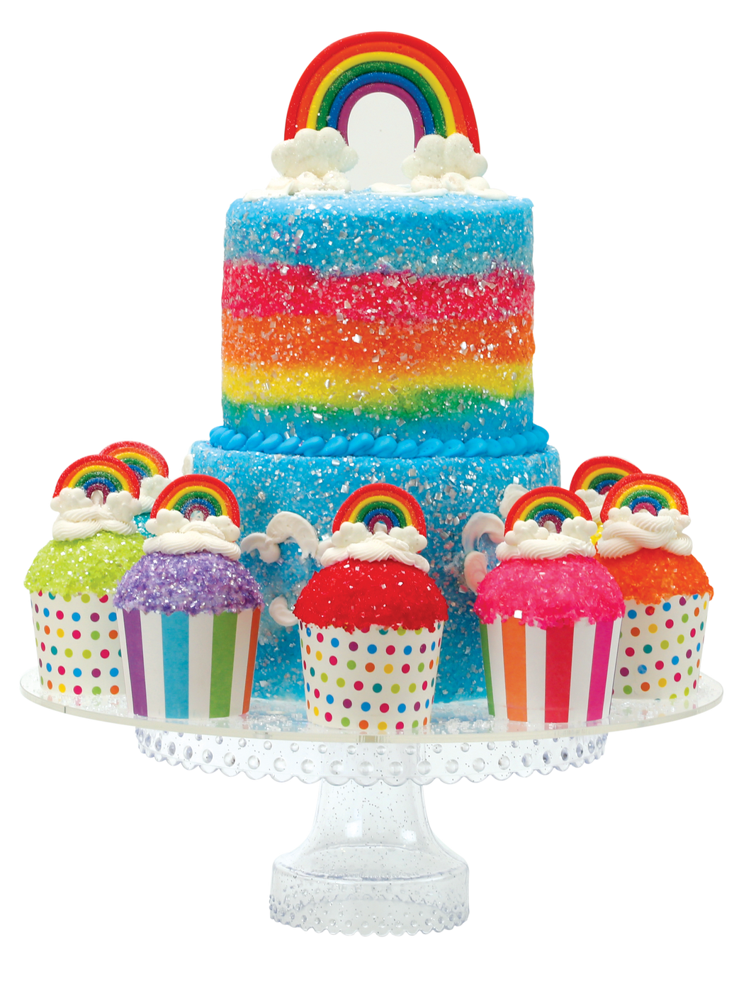 Over the Rainbow Designer Cake Décor