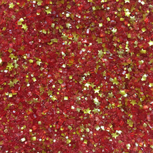 Bakery Bling Glitter Sugar Sprinkles | Almost Famous Glittery Sugar - Red Sugar Sprinkles with Gold Edible Glitter Stars and Glitters