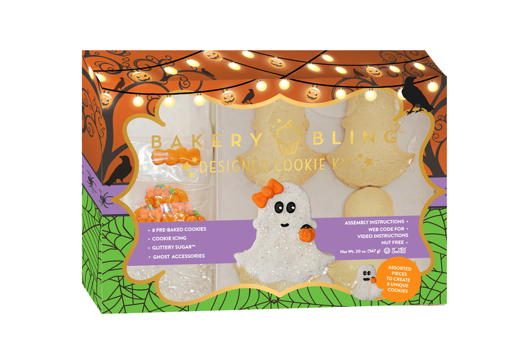 Halloween Ghost Designer Cookie Kit