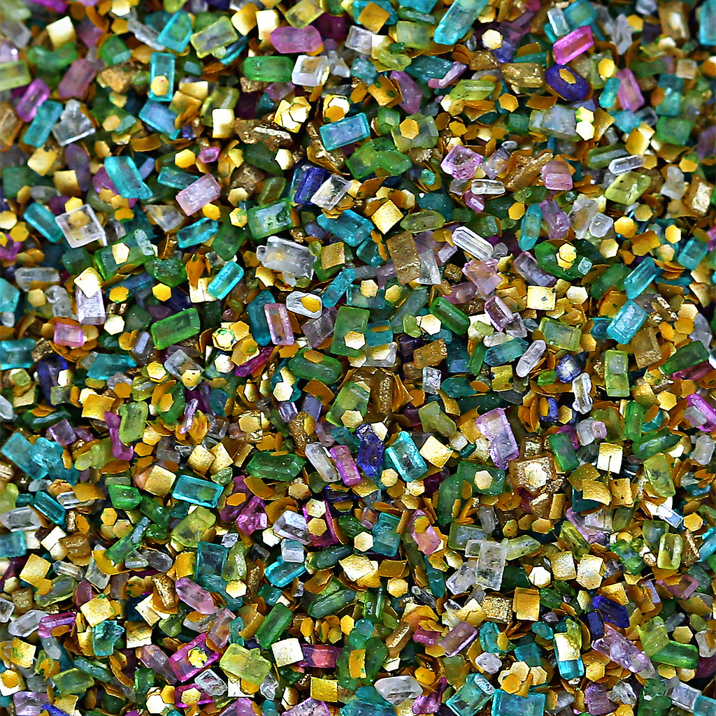 Bakery Bling Mermaid Edible Glitter Sprinkles Glittery Sugar for Baking and Cake Decorating