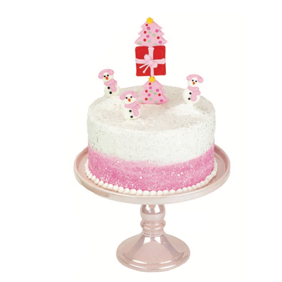 Merry & Bright Designer Cake Décor
