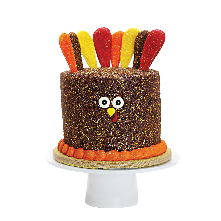 Turkey Designer Cake Décor