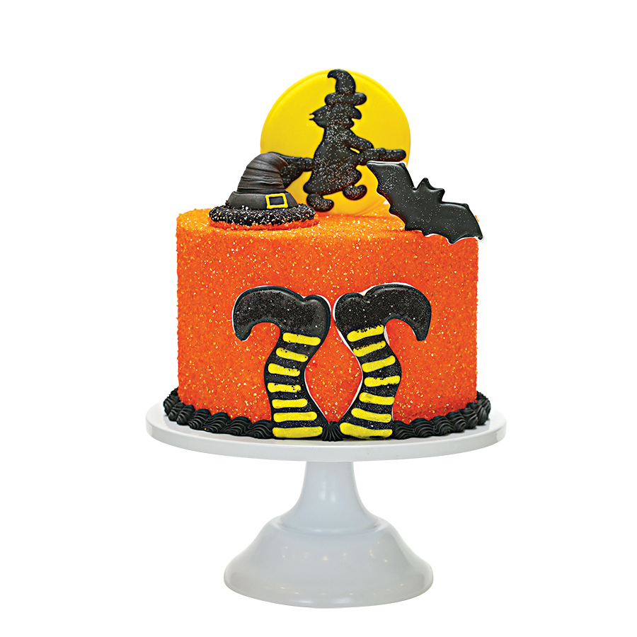 Witches Brew Designer Cake Décor