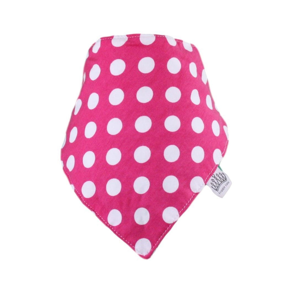 Dark Pink The Spotty Bib