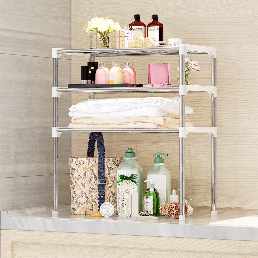 3 Tier Multi functional Storage Shelf Sponge