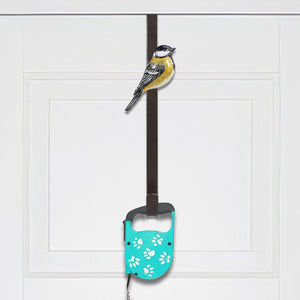 Blue Head Bird Door Hook Over the Door Hook