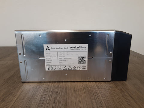 AvalonMiner 741- 7.4TH- *Contact for discounts on bulk orders*